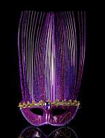 1pc pequeña venda del pelo del sombrero para el partido del traje de víspera de Todos los Santos la máscara plana de la mascarada de la