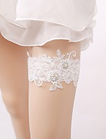 Garter Lace Imitation Pearl