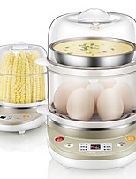Egg Cooker Double Eggboilers Easy To Clean and Durable Light and Convenient Washable Detachable 220V