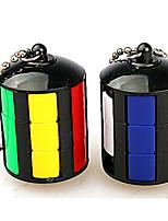 Cubo de rubik Cubo velocidad suave Alivia el Estrés Cubos Mágicos Llavero Plásticos