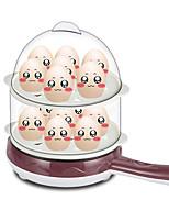 Egg Cooker Double Eggboilers Multifonction Créatif Style mini Légère Détachable 2 en 1 220V