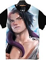 Ispirato da Naruto Cosplay Anime Costumi Cosplay Cosplay T-shirt Cartoni animati Manica corta Top Per Unisex
