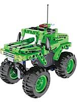 DIY KIT Building Blocks Educational Toy Pull Back Car/Inertia Car Vehicle For Gift  Building Blocks Car Plastics Acetate/Plastic ABS6