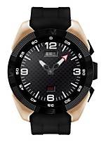 Per uomo Smart watch Meccanico a carica manuale Gomma Banda Nero