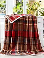 Plush Lattice Cotton Blankets