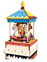 Music Box Jigsaw Puzzle Toys Horse Carousel Unisex Pieces