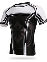 XINTOWN Fahrradtrikot Herrn Kurzarm Fahhrad T-shirt Trikot/Radtrikot Rasche Trocknung Schweißableitend Atmungsaktivität UV-beständig