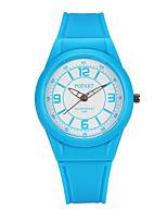 Детские электронные часы Цифровой Защита от влаги Pезина Группа Черный Синий Розовый