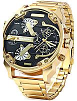 Муж. Детские Армейские часы Модные часы Наручные часы Повседневные часы Китайский Кварцевый Календарь С двумя часовыми поясами Панк