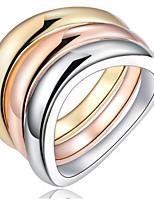 Band Rings Settings Ring 3pcs/set Luxury Elegant Noble  Euramerican Fashion Birthday Wedding Movie Gift Jewelry