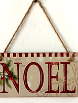 European and American wooden Christmas NOEL is listed for Christmas Eve Christmas wood hanging board