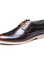 Men's Oxfords Formal Shoes Comfort Leather Wedding Casual Party & Evening Brogue