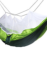 Camping Hammock with Mosquito Net Collapsible Nylon for Camping Camping / Hiking / Caving Travel Outdoor