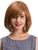 Simple  exquisite  BoBo  Hair Oblique Fringe  Human Hair Wigs