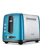 BUYDEEM D612 Bread Makers Toaster Kitchen 220V Health Care Light and Convenient Cute Low Noise Power light indicator Lightweight Low vibration
