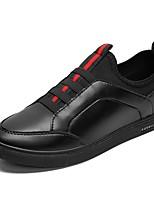 Для мужчин Мокасины и Свитер Удобная обувь Светодиодные подошвы Обувь для дайвинга Весна Осень Натуральная кожа Кожа Полиуретан