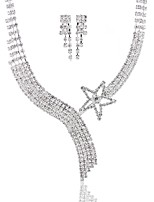 Жен. Ожерелья-бархатки Геометрической формы Искусственный бриллиант Сплав Базовый дизайн Мода Бижутерия НазначениеСвадьба Для вечеринок