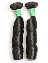 Натуральные волосы Бразильские волосы Человека ткет Волосы Кудрявые Наращивание волос 2 Черный