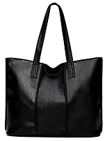 Women Bags All Seasons PU Shoulder Bag with for Wedding Event/Party Casual Formal Office & Career Black Red Gray