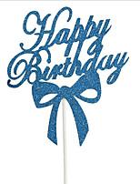 Аксессуары для вечеринок День рождения 1 шт. Аксессуары для тортов Орнаменты Бумага День рождения Семья