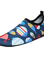 Boys' Athletic Shoes Comfort Light Soles Summer Fall Spandex Water Shoes Athletic Casual Outdoor Flat Heel Navy Blue Flat