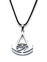 Necklace Assassin Movie Cosplay Silver Golden Black Necklace Carnival Alloy
