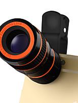 Lentille de téléphone portable lieqi lq-803 Objectif grand angle 180x 180 yeux 10x macro 8x téléobjectif lentille externe