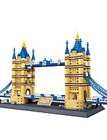 Building Blocks For Gift  Building Blocks Famous buildings Plastics All Ages 14 Years & Up Toys