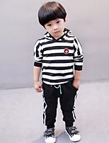 Boys' Stripe Sets,Cotton Fall Clothing Set