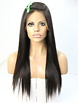Deep Wave  Lace Front Wigs Brazilian Remy Hair Pre Plucked Natural Color Human Hair Wigs For Black Women