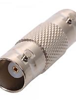 Paquete de 10 paquetes - conectador del adaptador del acoplador del cable coaxial femenino del bnc para el cctv rg59 rg60
