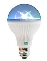 1W Lâmpada Redonda LED 6 SMD 100-150 lm RGB AC 85-265 V 1 pç E27