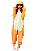kigurumi Pyjamas Dragon Collant/Combinaison Fête / Célébration Pyjamas Animale Halloween Animal Molleton Kigurumi Pour Couple Unisexe