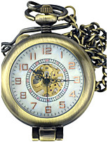 Men's Pocket Watch Automatic self-winding Water Resistant / Water Proof Alloy Band Bronze