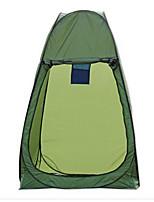 LINGNIU® 1 человек Световой тент Один экземляр Палатка Всплывающая палатка Сохраняет тепло Водонепроницаемость Дожденепроницаемый Защита