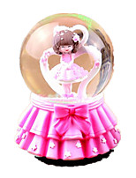 Balls Music Box Toys Round Not Specified 1 Pieces