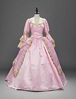 Uma-Peça/Vestidos Gótica Doce Lolita Clássica e Tradicional Punk Inspiração Vintage Elegant Vitoriano Rococo Princesa CosplayVestidos
