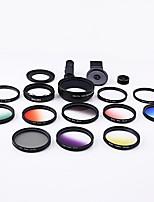 Xihama lentes de câmera de smartphone 0.45x grande angular 12.5x lente de olho de peixe macro para ipad iphone huawei xiaomi samsung