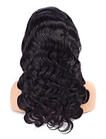 Lace Front Wigs Body Wave Pre-plucked with Slight Bleached Knots 100% Human Remy Hair Wigs