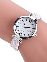 Жен. Нарядные часы Модные часы Наручные часы Китайский Кварцевый PU Материал Группа Винтаж Богемные Повседневная Элегантные часы Черный