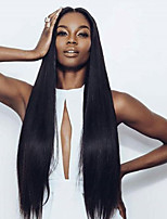 Siky Straight Virgin Hair Lace Front Wig with Baby Hair Human Virgin Hair Wig for Black Women