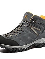 Men's Boots Comfort Fall Winter Suede Hiking Shoes Athletic Casual Outdoor Office & Career Work & Safety Khaki Gray Under 1in