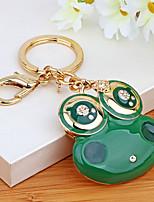 Sac / téléphone / porte-clés charme grenouille dessin animé jouet korea alliage de zinc style