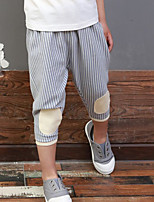 Boys' Striped Pants-Cotton Polyester Spring Fall