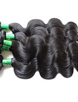 Оптовые индийские ботинки волос виргинских волос тела 6pcs 600g много верхние индийские remy человеческие волосы ткут естественный черный
