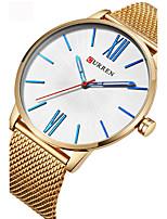 Муж. Спортивные часы Модные часы Уникальный творческий часы Повседневные часы Китайский Кварцевый Защита от влаги сплав Группа