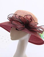 Women's Fashion Solid Handmade Net Sun Hat & Hats