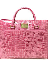 Women Tote PVC All Seasons Casual Office & Career Round Zipper Blushing Pink