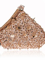 L.west Women's fashion handmade beaded sequined dinner packages Hand bag