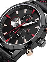 Муж. Спортивные часы Модные часы Наручные часы Уникальный творческий часы Повседневные часы Кварцевый Календарь Секундомер Хронометр